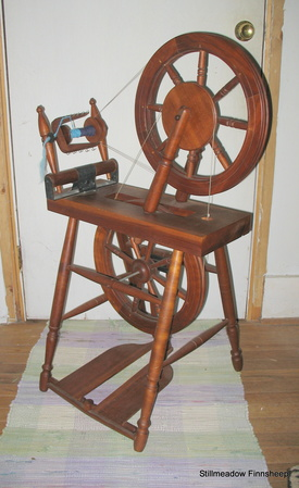Vintage Spinning Wheels